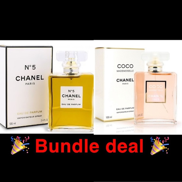 CHANEL Other - Chanel 2 bottle bundle coco + no5